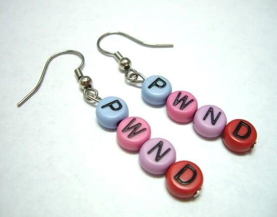 Pwned Earrings