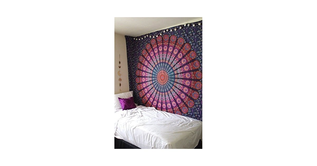 Colorful Wall Tapestry 27 Dorm Essentials Under 40 On Amazon Prime Popsugar Home Photo 19