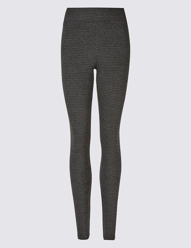 M&S Collection Jacquard Print Leggings