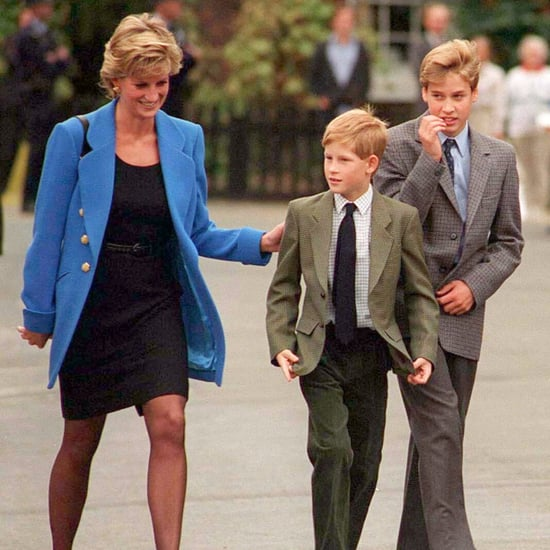 Prince William and Prince Harry Rededicating Diana's Grave