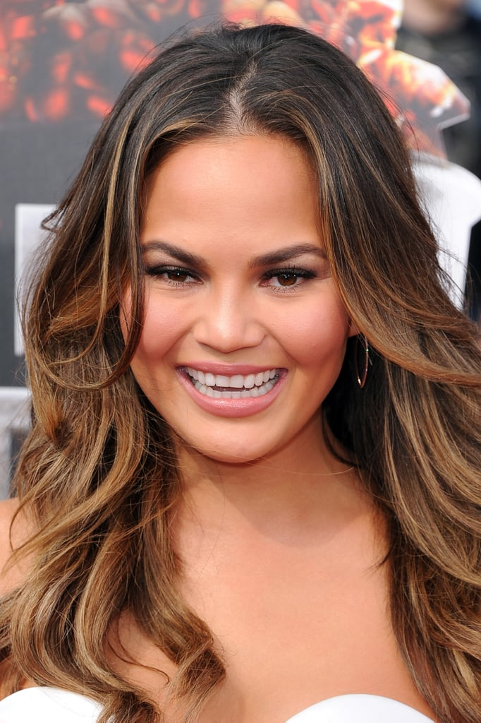 Chrissy Teigen Is Sweet and Sexy at the MTV Movie Awards