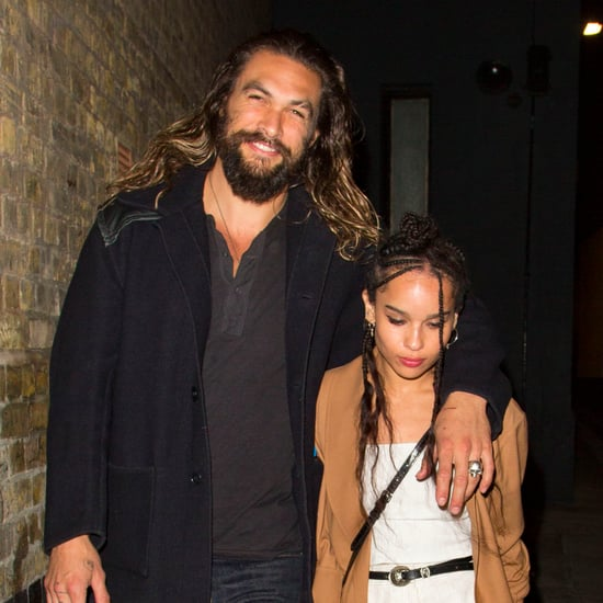 Jason Momoa and Zoe Kravitz Out in London September 2016