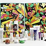 Kiehl's (£95) The Kiehl's advent calendar has 24 of their award winning beauty products in travel size. Products including Midnight Recovery Concentrate, Ultra Facial Cleanser and Creme de Corps.