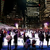 Winter Village at Bryant Park in New York City