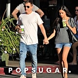 Rob and Bryiana Dyrdek Out in LA September 2016