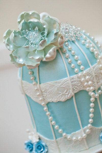 Romantic Fairy-Tale Cake