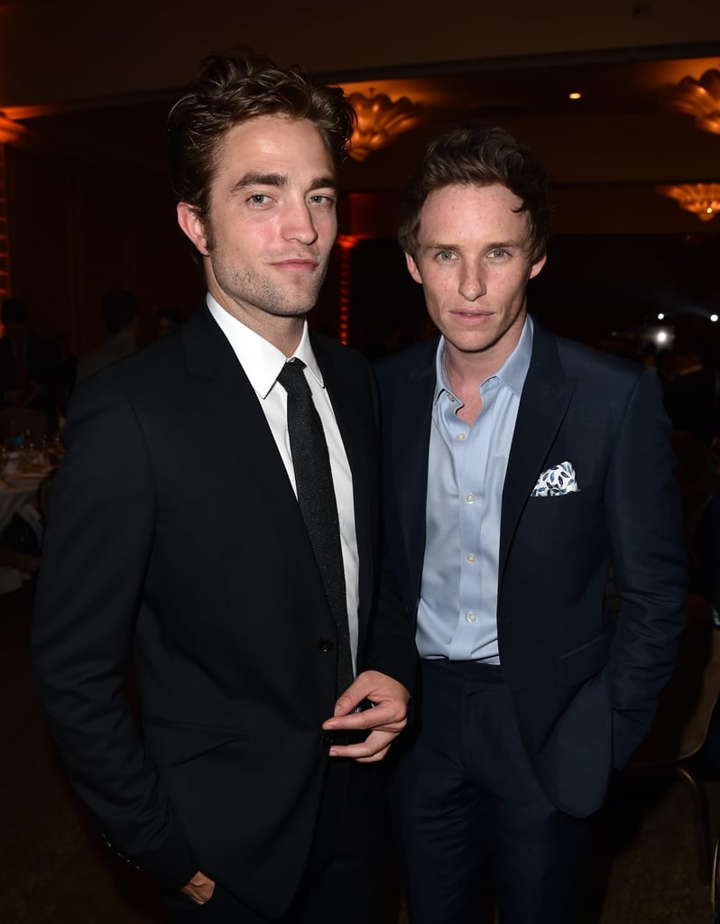 The only thing better than a hot British actor is a group of hot British actors — and luckily for us, some of our favorite guys from across the pond just so happen to run in the same circles. For really no reason at all, we've rounded up 25 photos of your favorite British actors — including Robert Pattinson, Andrew Garfield, and Tom Hiddleston — hanging out with each other and generally looking really hot together. Keep reading to see them all now, and be sure to check out more cute guys gushing about their celebrity man crushes.