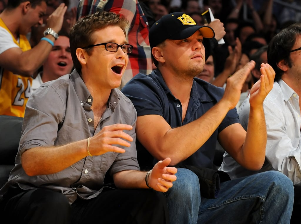 JT, Jess and Leo at Lakers