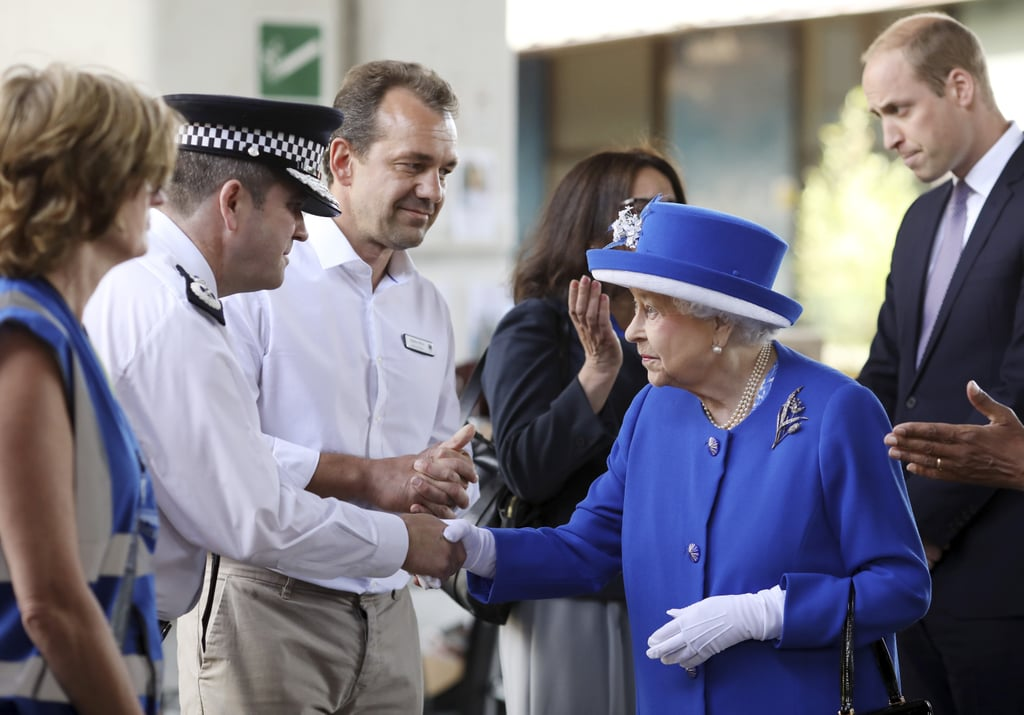 Queen notes 'very sombre mood' in Britain on official birthday