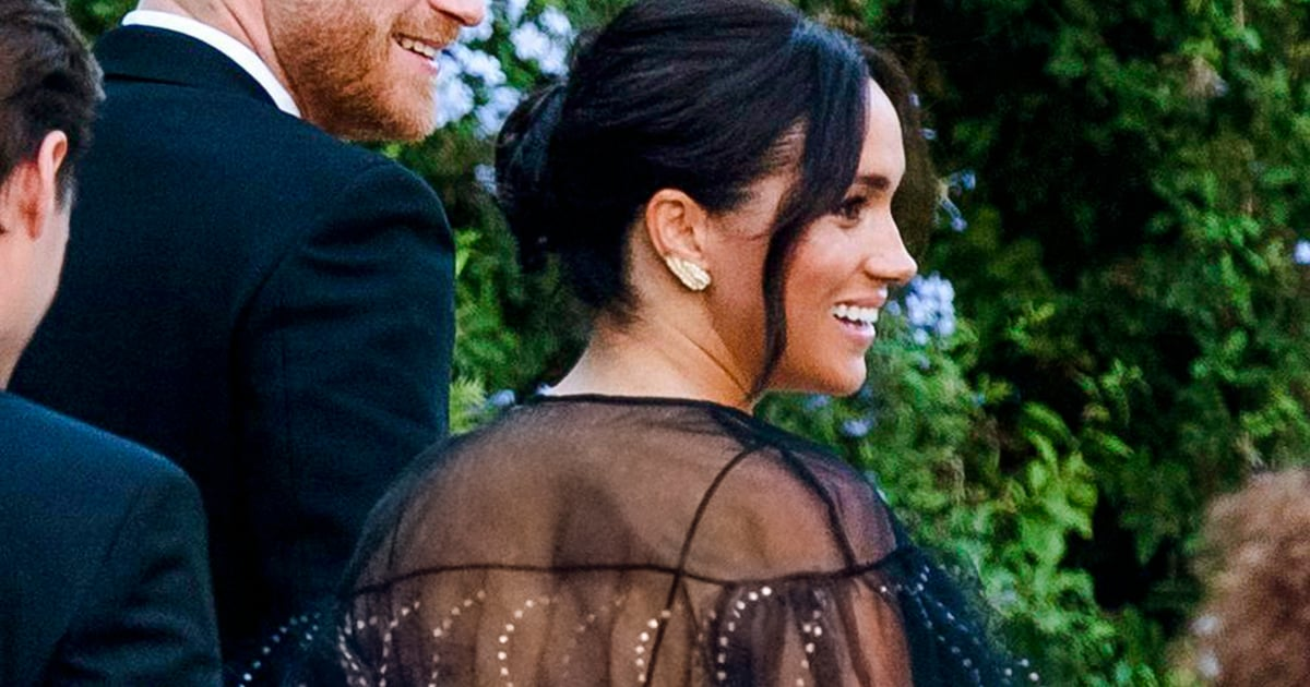 Meghan Markle Looks Like a Ridiculously Chic Disney Princess in Her Wedding Guest Dress