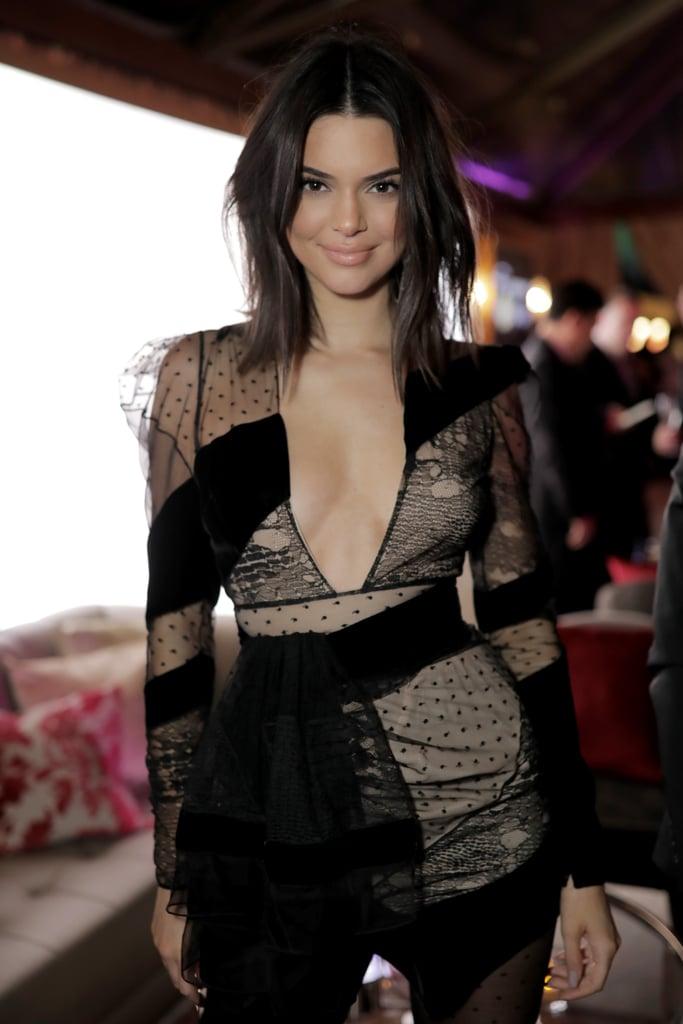 Kendall Jenner Golden Globes Afterparty Dress 2018