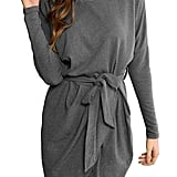 Aifer Casual Pullover Loose Sweater Dress
