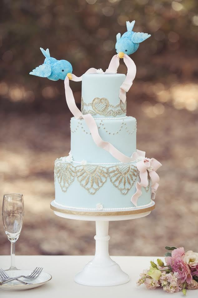 Cinderella Disney Wedding Cake Ideas POPSUGAR Food Photo 9