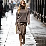 On the Street: Long Shorts and Tall Boots