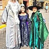 Dumbledore, Rowena Ravenclaw, and Professor McGonagall