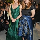 With her mom, Sarah Ferguson, at the Cannes Film Festival.