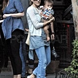 Pictures of SJP and Twin