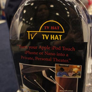 TV Hat at MacWorld 2011