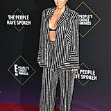 Kourtney Kardashian at the 2019 People's Choice Awards