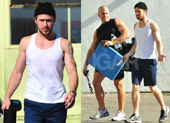 Ryan Gosling Hits the Gym