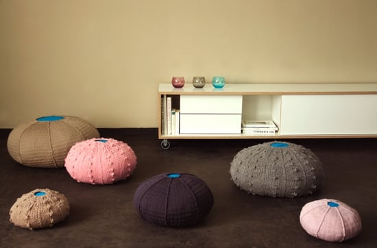 Crave Worthy: Sea Urchin Poufs