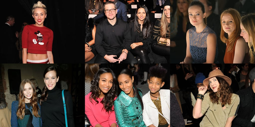 It's a Wrap — See All the Celebrities at New York Fashion Week