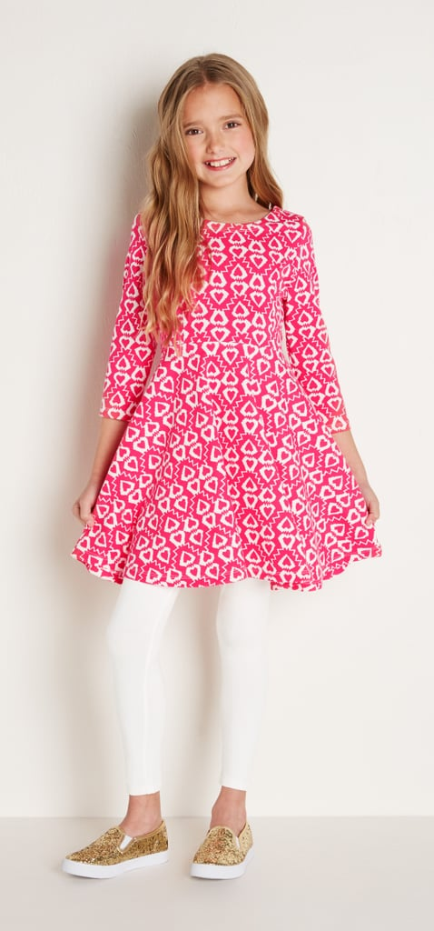 Pink Ikat Heart Dress Valentine S Day Outfit Ideas For Kids