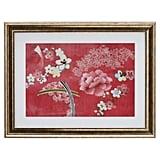 Silk Flower Painting
