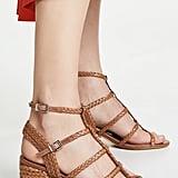 Schutz Rosalia Block Heel Sandals