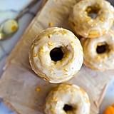 Pumpkin Orange Glazed Doughnuts