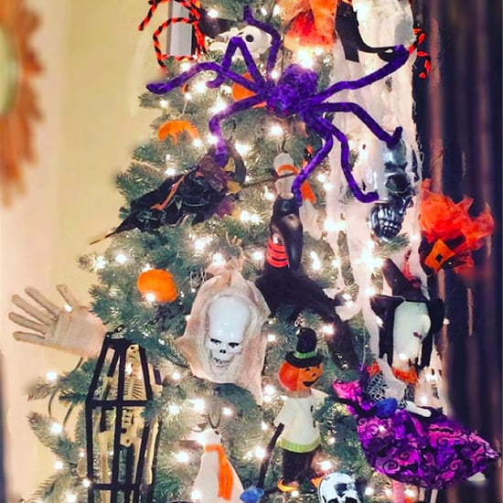 How to Decorate With Halloween Trees