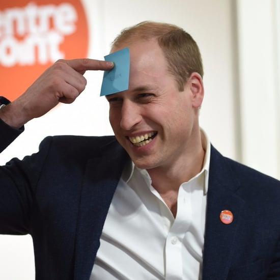 Prince William Visits Centrepoint Hostel in London Jan. 2017