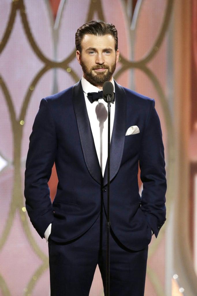 Hot Guys at the 2016 Golden Globe Awards