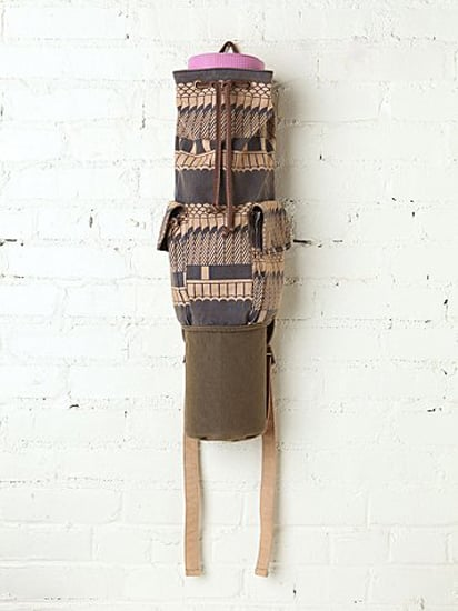 This chic Cobra Yoga Bag ($68) from Free People can be worn as a backpack or slung over one shoulder.