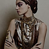 Queen Nefertiti Inspires Christian Louboutin Eye Makeup