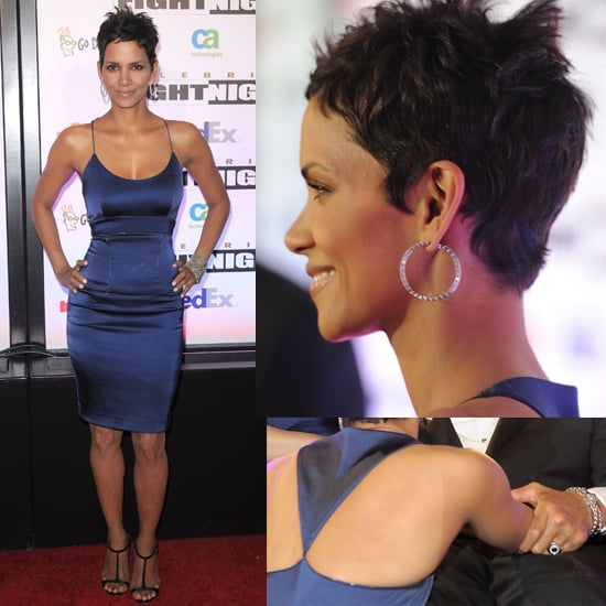 Halle Berry Wears Figure-Hugging Rachel Roy Dress to Muhammad Ali Event