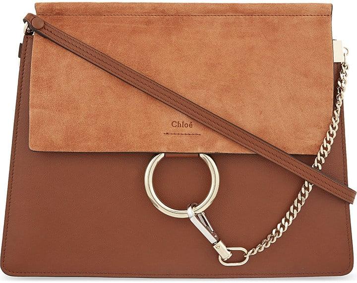 2f00a736d1 Chloé Faye Medium Leather Satchel ($1,705) | Emily Ratajkowski ...