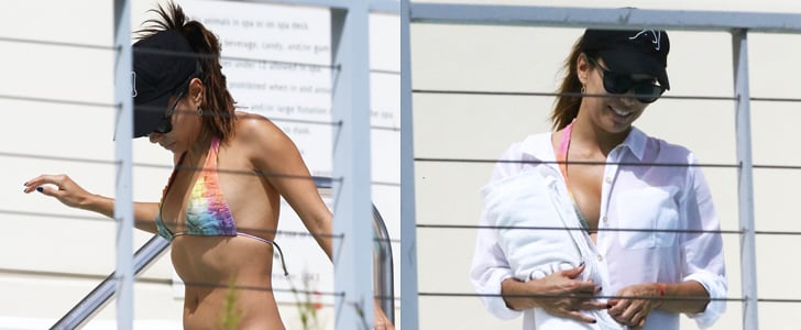 Eva Longoria Heats Up Miami With Her Bikini Body