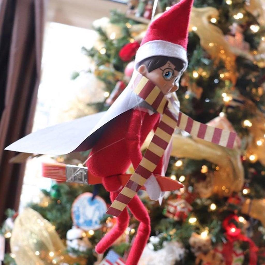 Elf On The Shelf Ideas.Creative Elf On The Shelf Ideas Popsugar Family