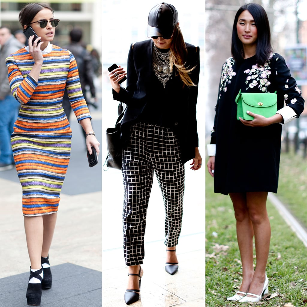 Street-Style Trends at Fashion Week Fall 2013 | POPSUGAR ...