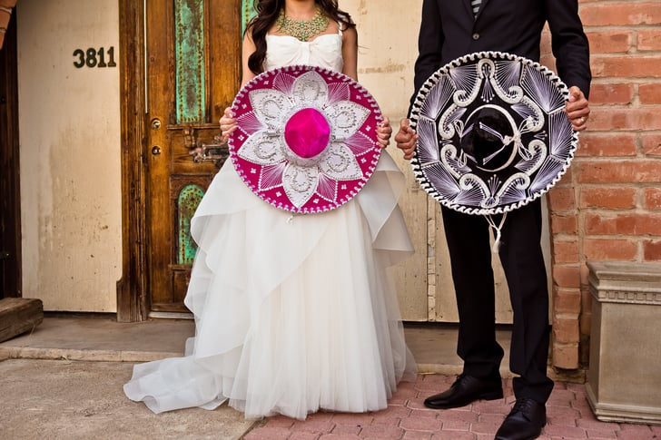 This Colorful, Modern Multicultural Wedding Looks Like a Blast!