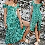 Zaxarra Boho Midi Dress