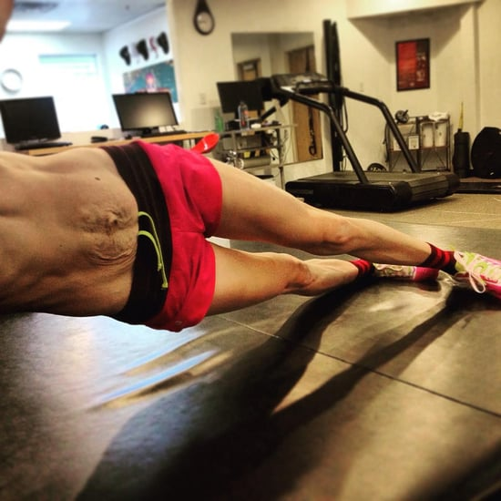 Olympic Hopeful Embraces Her Postpartum Body and Split Abs