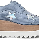 Stella McCartney Elyse stars faux-leather flatform brogues ($1,005)