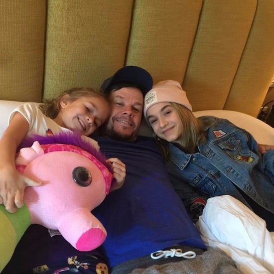 Mark Wahlberg Instagram Photo With Daughters January 2017