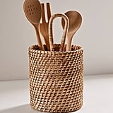 Basket Utensil Holder