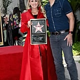 Carrie Underwood at Hollywood Walk of Fame Ceremony 2018