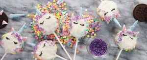 Lisa Frank-ophiles Need to Make These Unicorn Oreo Pops ASAP