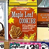 Maple Leaf Cookies ($4)