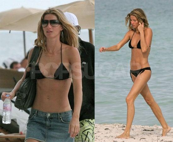 Shocker: Gisele Looks Good in a Bikini